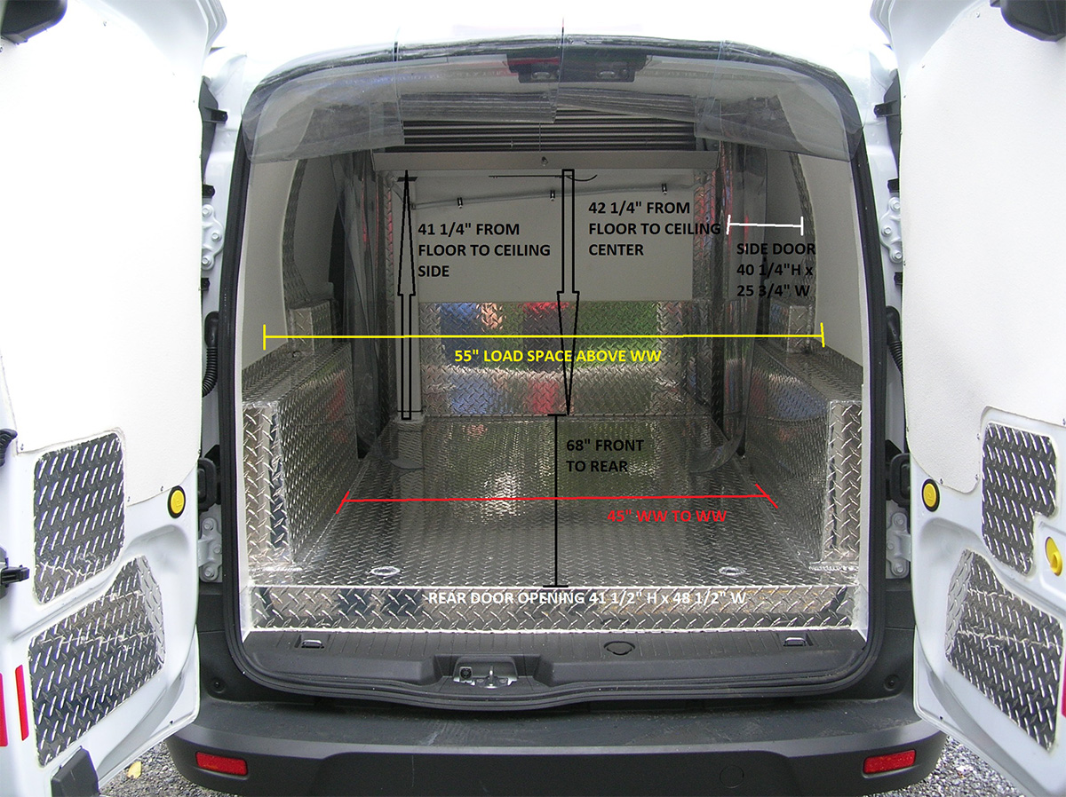 Arctic Vans Arctic Package Specifications