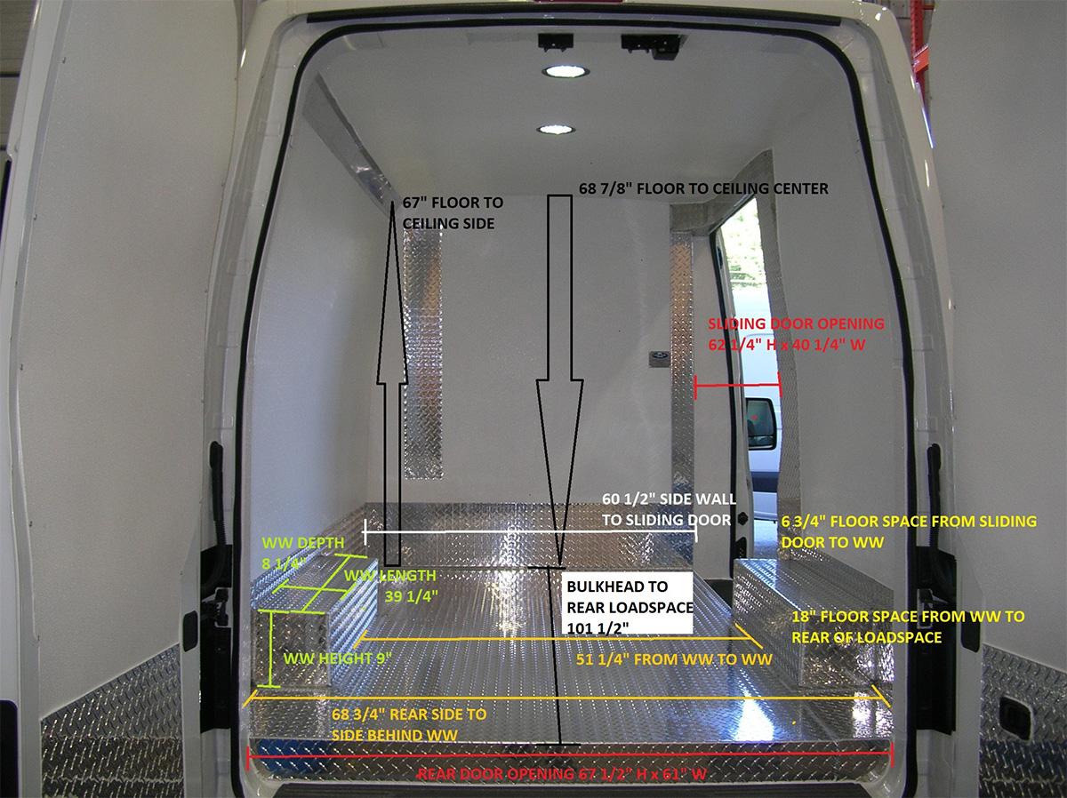 Mercedes Benz Of Hagerstown >> Arctic Vans - Arctic Package Specifications